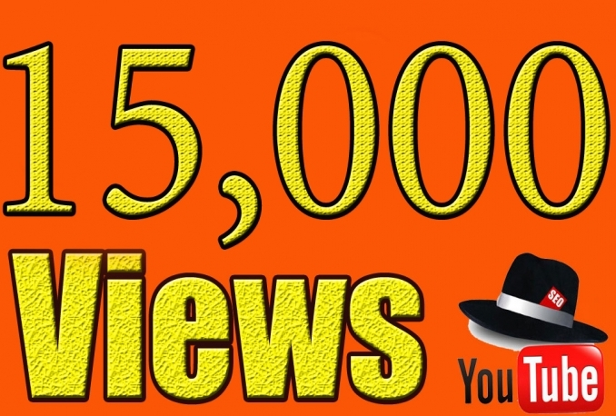 Provide High Quality 15,000+YOUTUBE videos views
