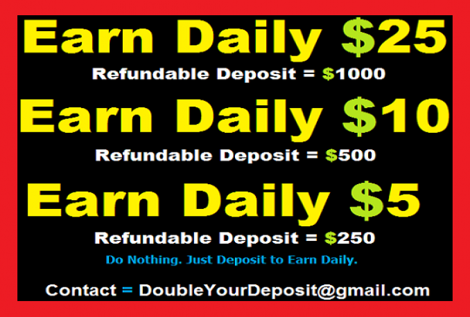 Tell You How To Make Money Daily Like $100 Without Doing Nothing