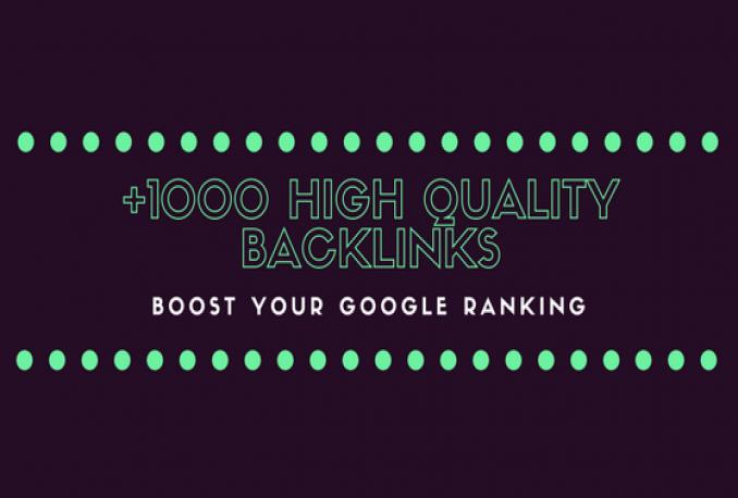 Manually Create High Quality Backlinks for SEO