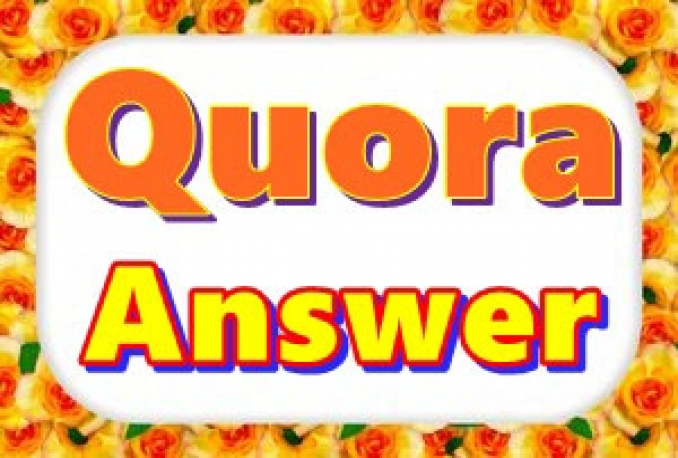 Promote your website by 30 Unique high quality Quora answer posting with Contextual Link for $10
