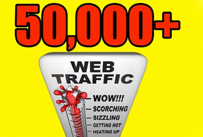 DRIVE 50,000 REAL HUMAN TRAFFIC FROM SOCIAL MEDIA