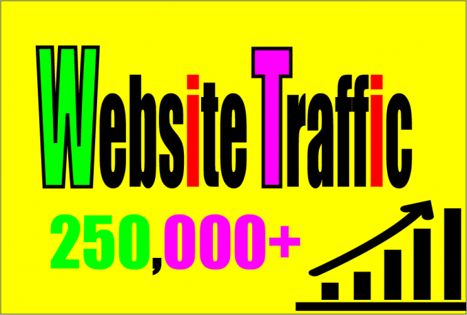 Provide 250,000 Guaranteed Web Traffic Visitor From Any Country on Earth with proofs