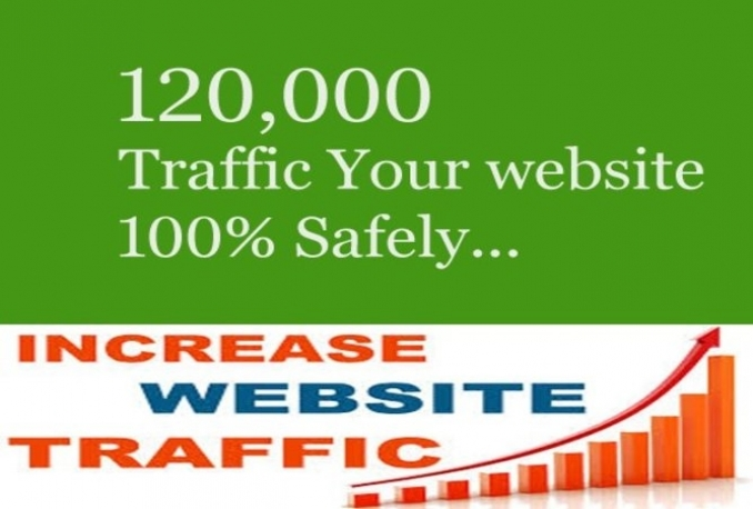 Provide 120,000 Guaranteed Web Traffic Visitors From UK or Any Country to your site with proofs