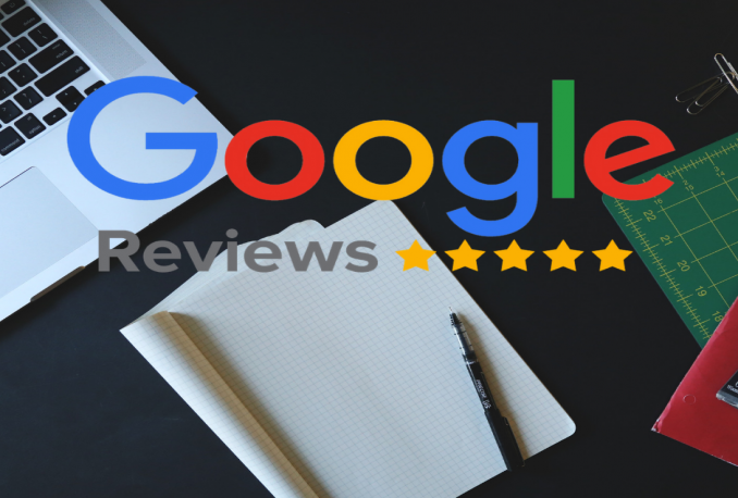 Create Google reviews from 10 real accounts
