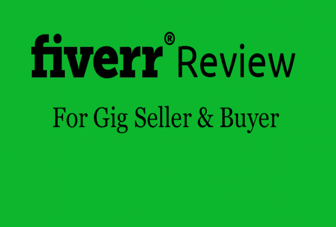Buy any Fiverr Gig & Give 5Stars and review it only on