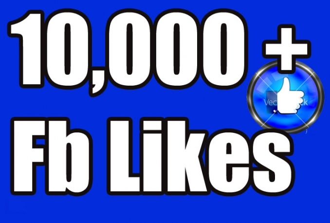 Gives you 10,000 PERMANENT Active Facebook likes Instantly