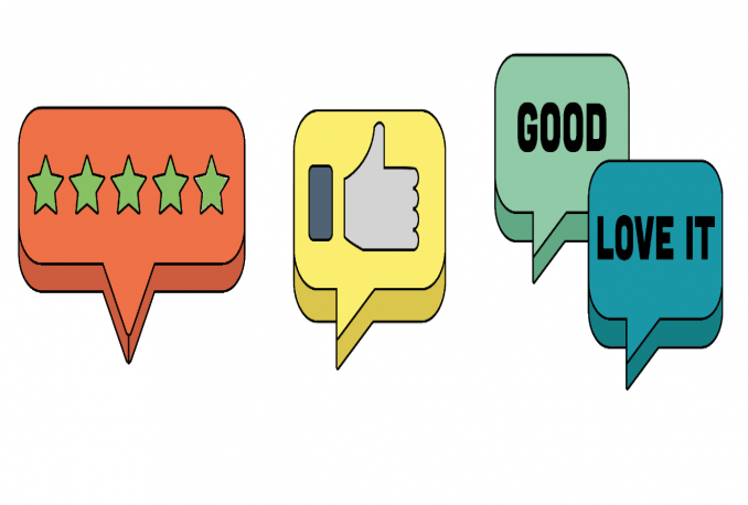 give 5 star public and private reviews on fiverr for your gig