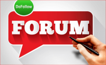 Promote Site Using Keyword & URL In Forum post