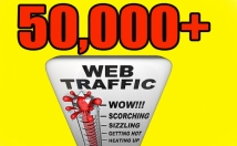 DRIVE 50,000 REAL HUMAN TRAFFIC FROM SOCIAL MEDIA