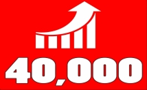 DRIVE 40,000 SOCIAL MEDIA TRAFFIC