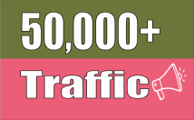 Send 50,000 Real Human Traffic to Your Website with proofs