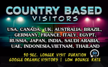 Bring Unlimited Targeted Web Traffic Visitors From Usa, Uk, Aus & France