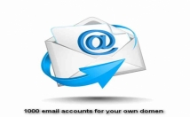 providse Email Hosting - 1000 Emails For Your Domain