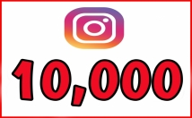 Give Instant 10,000 Instagram Followers Fast Non Drop Follower
