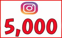 give 5,000 Instant Instagram Fast Non Drop Followers
