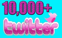 Gives you 10,000+Guaranteed Twitter Real Followers