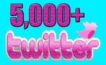Gives you 5,000 Guaranteed Twitter Real Followers
