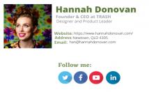 do professional clickable email signature