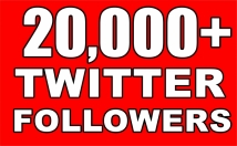 Gives you 20,000+Guaranteed NON Drop Followers.