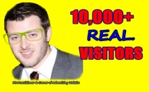 Provide you 10,000 Guaranteed USA Visitors to your site with proofs